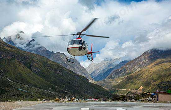 Dehradun To Badrinath Helicopter Booking